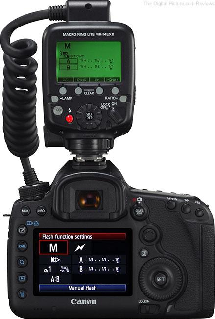 Canon Macro Ring Lite MR-14EX II Flash Back