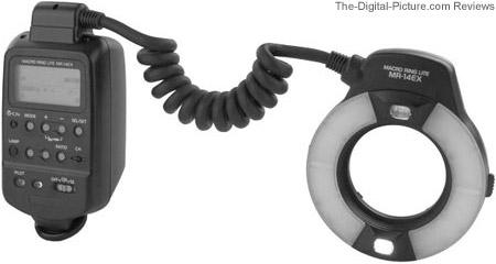 Canon Macro Ring Lite MR-14EX Flash