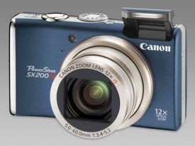 Canon PowerShot SX200 IS Review Image