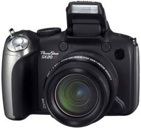 Canon PowerShot SX20 IS Review Image