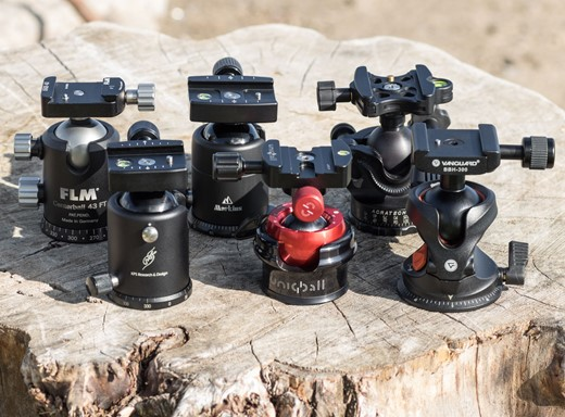Vanguard BBH-100 Ball Head with Unique Levelling Feature