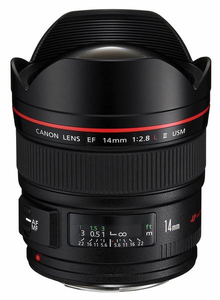 Canon EF 14mm f / 2.8L II USM