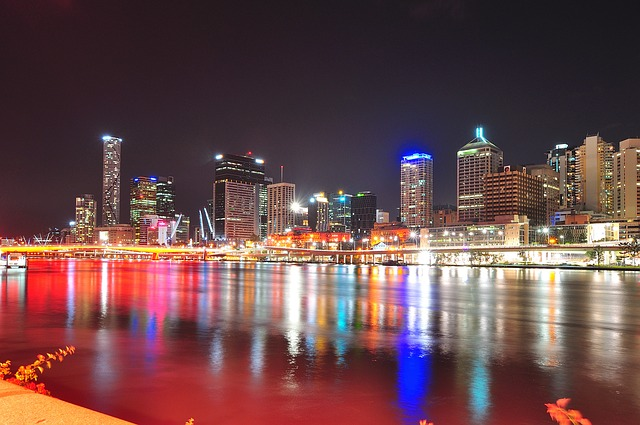 Brisbane from Southbank